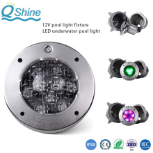 Luz de piscina subacuática LED de acero inoxidable 316/304