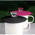 Creative Diamond Reusable Silicone Mug Lids