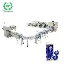 High Speed Automatic Continuous Color Kitchen Towel Making Machine