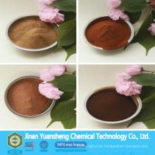 Dust Control Chemicals Polvo de lignosulfonato de calcio
