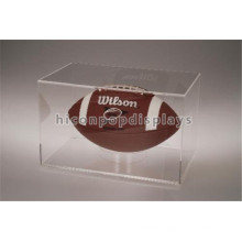Reliable China Manufacturing Portable Clear Acrylic Model Single Football Display Case Wholesale