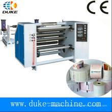 Machine de rembobinage à coupe thermique de papier haute précision, rebobineuse à papier de fax, rebobinage de papier autocopiant (DK-FQJ)