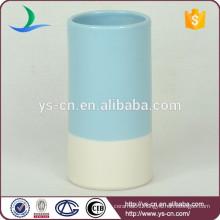 YSb50044-01-t Bamboo design stoneware bath tumbler products