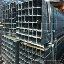Verzinkte quadratische & rechteckige Stahlrohre / verzinktes Vierkantrohr / Rohr mit hoher Qualität