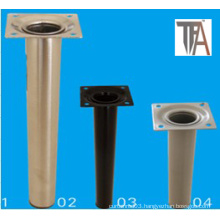 Chrome Plated Sofa Leg Without Foot Size 100mm
