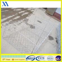 Galvanized or PVC Coated Gabion Box /Heavy Hexagonal Mesh