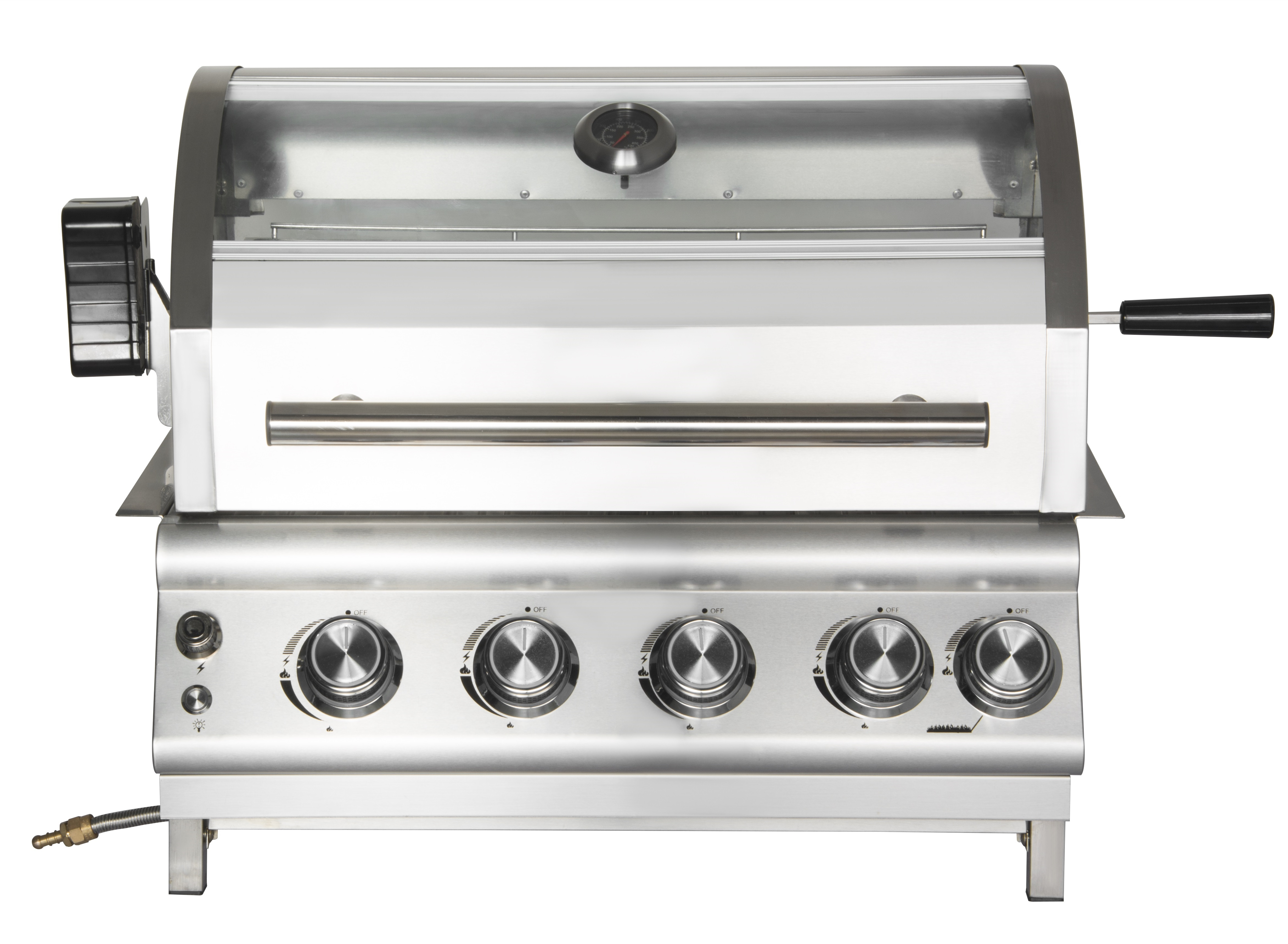 4 Burner Built-In Patio Gas Grill