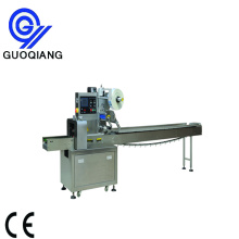 Automatic fast food pillow bag packing machine
