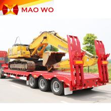 Venta superior de 60 toneladas de remolque de camión Lowboy Lowbed