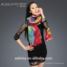 2015 custom design chinese scarf
