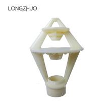 Boquilla rociadora de torre de enfriamiento con tres funciones de salpicadura