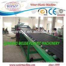 alto rendimiento de PP PE hoja plástica haciendo línea de la máquina del estirador