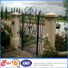 Portões de entrada decorativos de alta qualidade simples