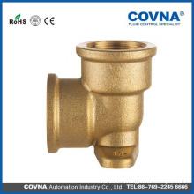 90-градусная уличная водопроводная арматура для труб из латуни