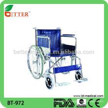 Cadeira de rodas com deficiência hospitalar no hospital