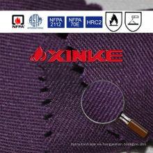 C / N de alta calidad y resistente a las llamas que se adapta a la tela con alta solidez de color