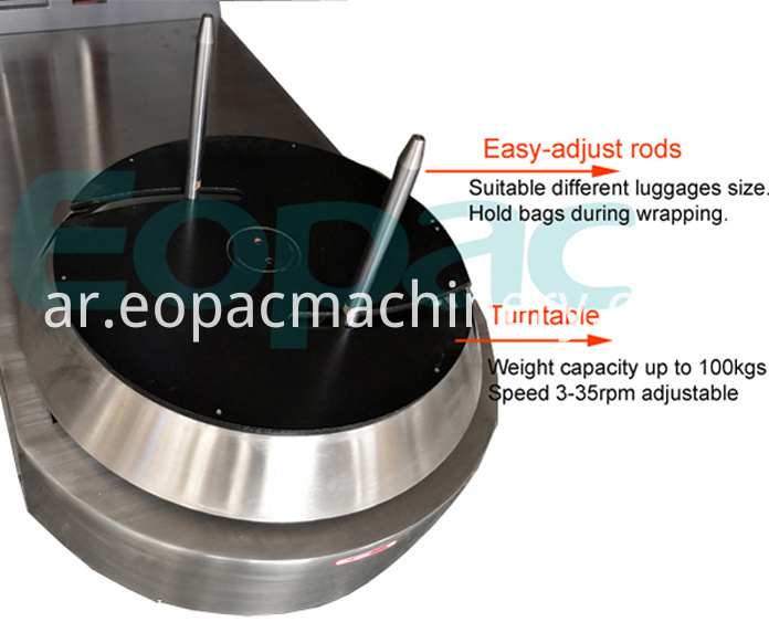 Small Luggage Wrapping Machine for Sale