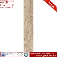 Holz Design Keramik Bodenfliese für Wohnzimmer Boden