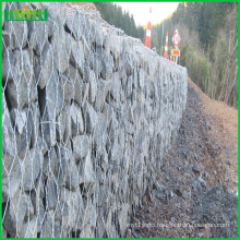 Professional hot dipped galvanized 4.5mm gabion cage