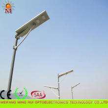 Hohe Effizienz 5 Jahre Garantie Integrierte Solar LED Straßenlaterne 80W