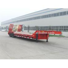 Doble Axles Baixa Cama Semi Reboque Carga Capcity 30 Ton