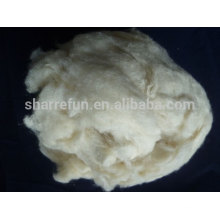 Chinese Raw tussah silk fibre manufacturer