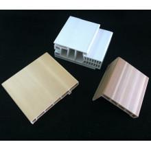 Combo PVC Door Frame Df-I95h40+PVC Architrave WPC Door Frame Architrave
