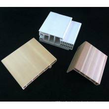 Комбинированный ПВХ дверной коробки ДФ-I95h40+ПВХ Наличник Дверная Рама WPC Архитрав