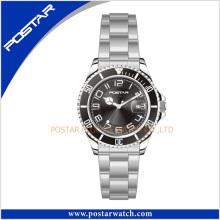 Qualitäts-Edelstahl-Armbanduhr Psd-2306