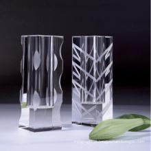 Vaso de flor de cristal para decoração para casa (JD-HP-010)