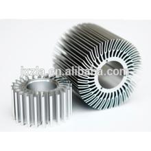Heißer Verkauf Aluminiumteile Aluminium geführtes Hitzegehäuse