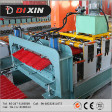 Color Steel Glalvanized Corrugated Trapezoidal Metal Sheet Roofing Sheet Machine Double Layer Roof Sheet Roll Forming Machine