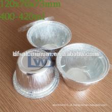 Copos descartáveis de fermento de alumínio, copo de fast food de alumínio