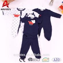 100% coton bébé vêtements Lovely bébé enfant en bas âge vêtements à manches longues bébé barboteuses