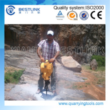 Handheld Gasoline Rock Drill for Quaary Stone