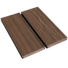 Outdoor Brushed Embossed Co Extruded Wpc Decking