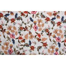 Tecidos impressos com padrão de flores de qualidade confiável