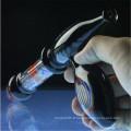 Tubes d'eau en verre à rayons rayés colorés pour le fumage d'herbes (ES-HP-008)