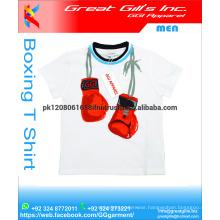 Cotton boxing tee t shirts
