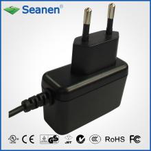 Adaptador de corriente de 6 vatios / 6 vatios con pin de Europa / EU para dispositivos móviles, decodificadores, impresoras, ADSL, audio y video o electrodomésticos