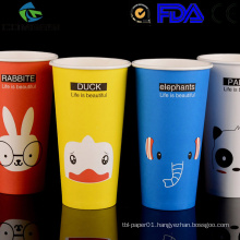single wall paper cups sleeve and lids_customized logo coffee cups_paper cups for hot drink