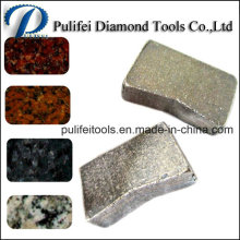 Fabricant de segment de diamant de la Chine pour la lame de scie de 900-3500mm
