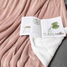 flannel fleece blanket custom soft polyester fleece blanket