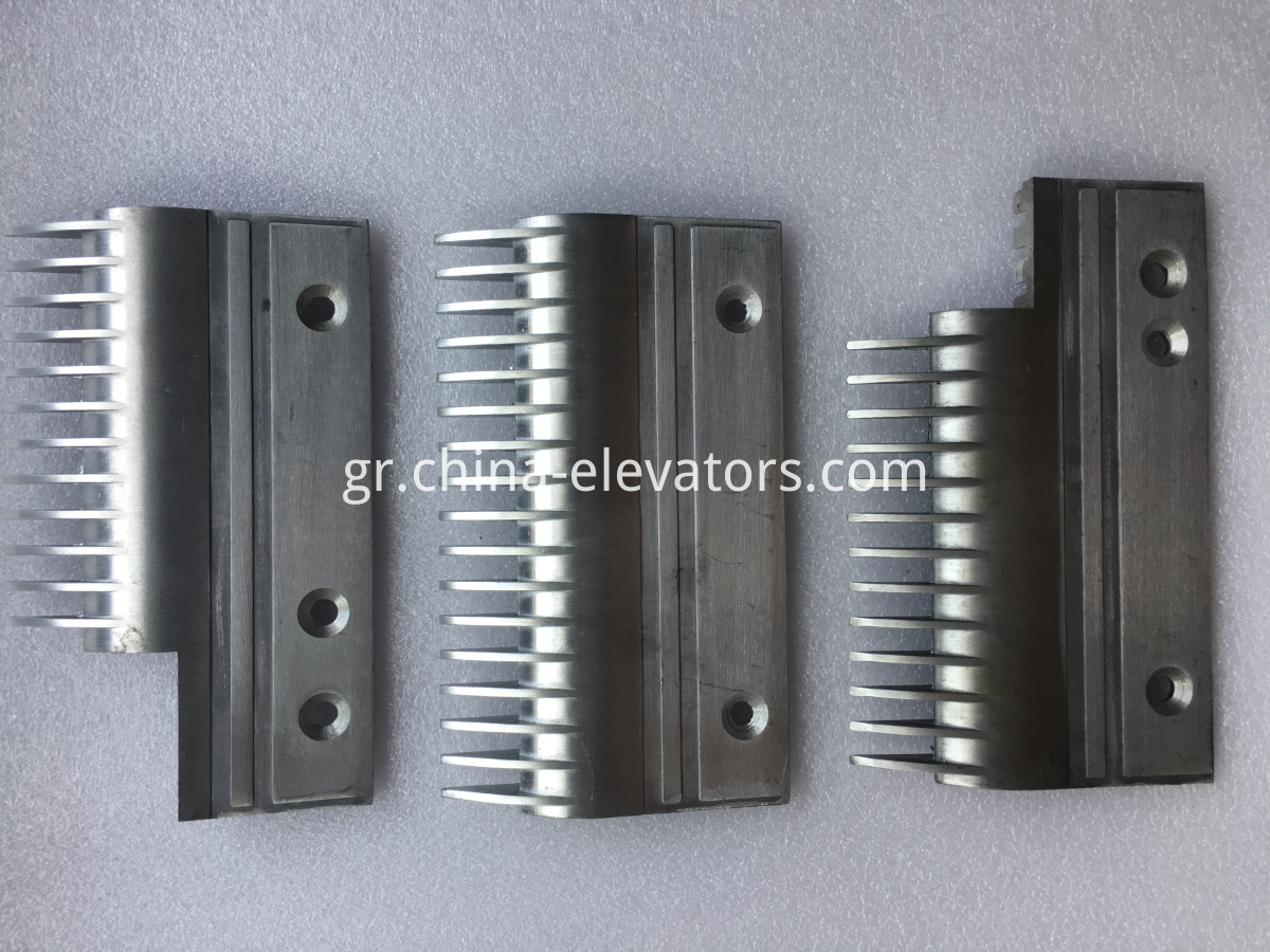 Aluminum Comb Plate for Hyundai Escalators S655BL