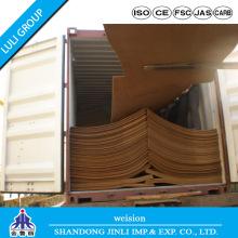 E1 MDF Plain Hard Board Types of Wood MDF