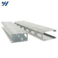 Material padrão da construção de JIS Tamanho padrão do c-canal do aço suave