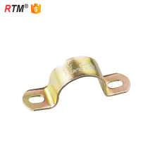 L17 u type metal pipe clamp galvanized steel pipe