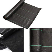 PP anti weed mat,agricultural plastic weed control fabric,90gsm black weed prevent cloth