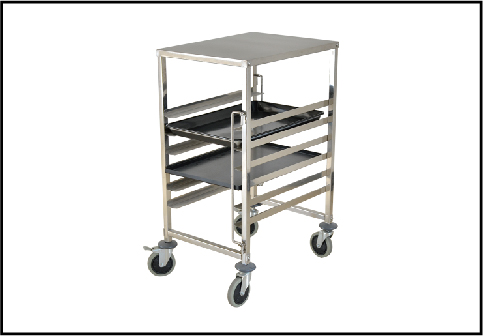 Stainless Steel Bakery Trolley