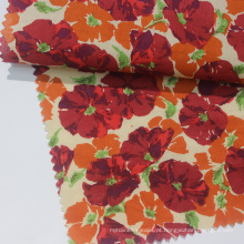 Tecido de gramado floral infantil de algodão infantil profissional